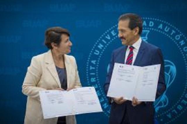 BUAP e Instituto Francés de AL firman convenio de colaboración
