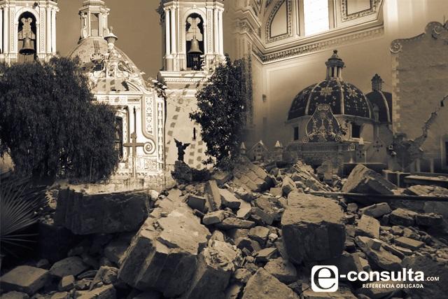 Sin atención, más de la mitad de iglesias del sur de Puebla tras 19 S