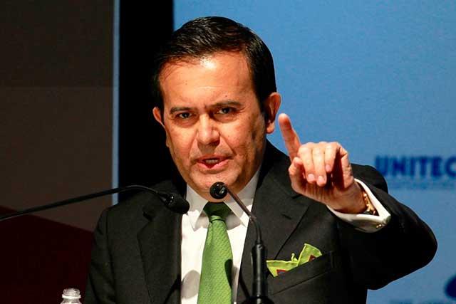 Ildefonso Guajardo asegura que el TLC no se está tambaleando