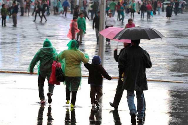 Pronostica el Meteorológico tormentas en Puebla y el Estado de México