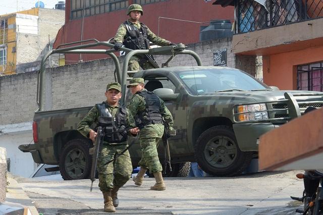Matan a militar en Naucalpan, Estado de México — MÉXICO