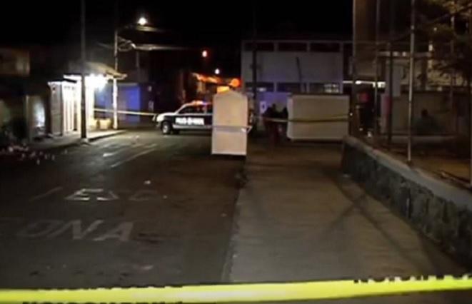Graban a sujeto que intentó robar a automovilista y terminó muerto