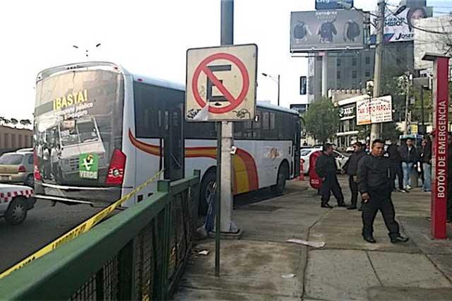 Mueren 3 presuntos asaltantes de transporte público — Edomex