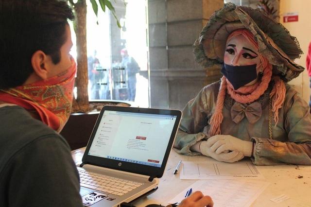 Entrega IMACP 90 apoyos a artistas urbanos