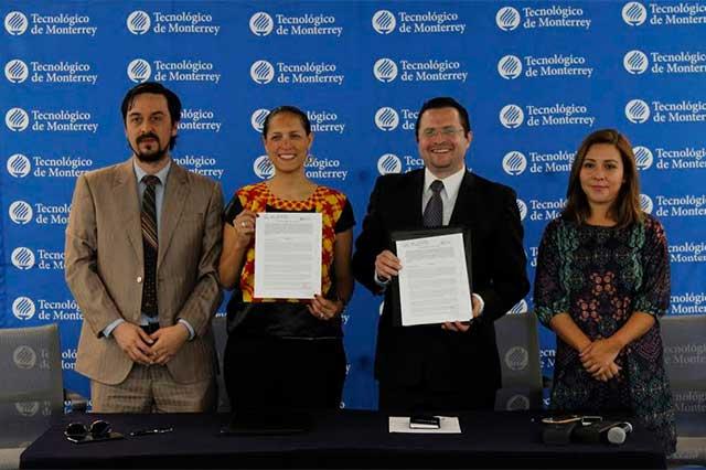 Proyectos formativos y de inclusión social realizarán IMACP e ITESM