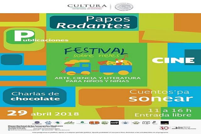 Museo de los Ferrocarriles invita al Festival Sobre Rieles 2018