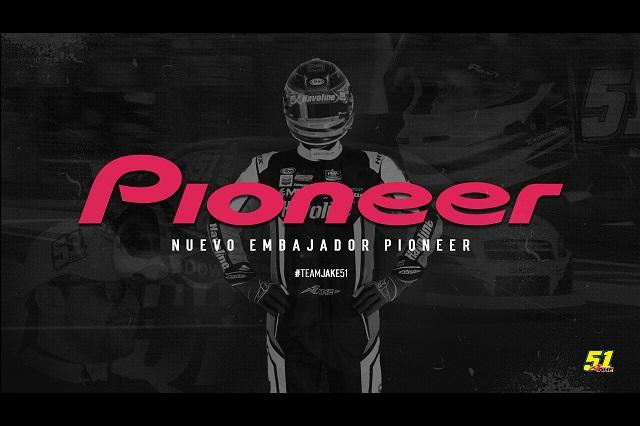 Jake Cosío será piloto embajador de la marca Pioneer