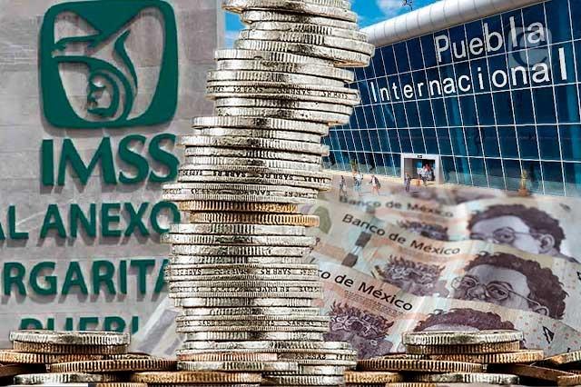 Proyectan 351 mdp para hospitales del IMSS y aeropuerto de Puebla