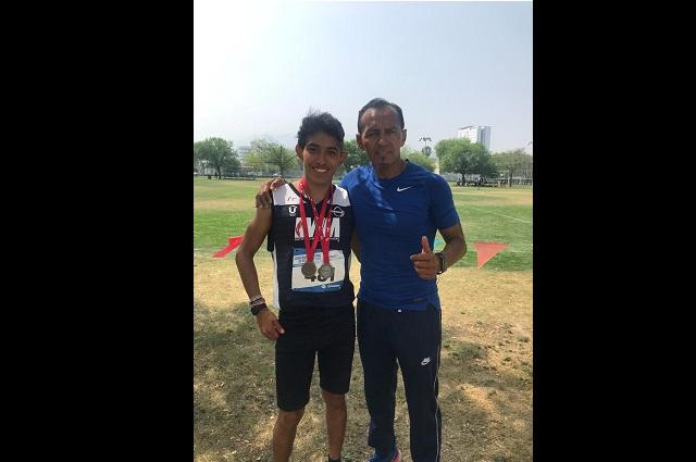 Cosechan medallas atletas de medio fondo de la UMAD