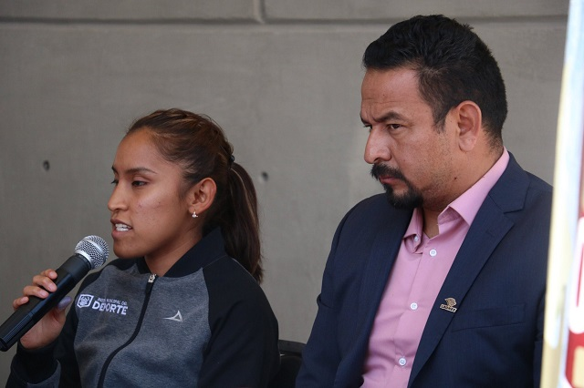 Diana Coraza renuncia al Instituto Municipal del Deporte