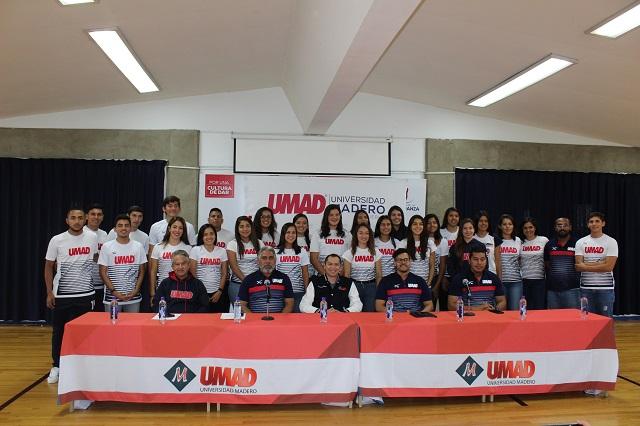 Tigres Blancos UMAD presentan temporada deportiva 2019-2020