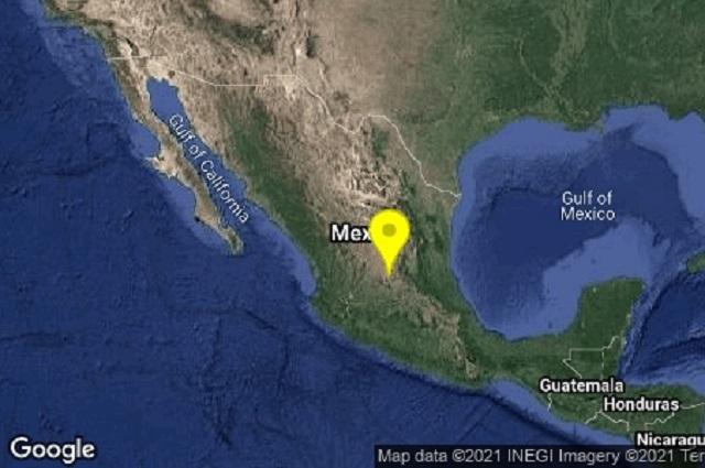 Sismos mecen a Guanajuato y SLP en la madrugada