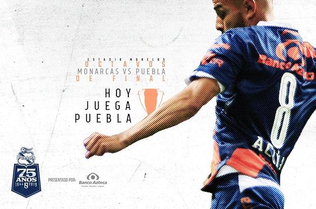 Club Puebla comienza el sueño por la sexta Copa MX