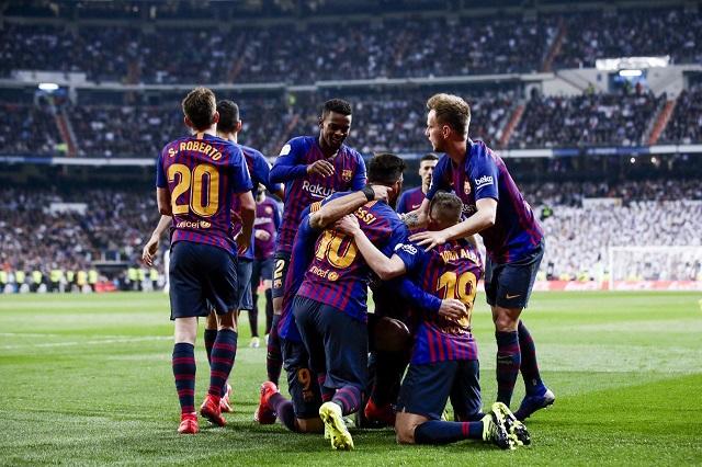 Aplasta Barcelona al Madrid y lo echa de la Copa del Rey