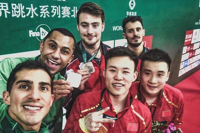 Romel Pacheco y Jahir Ocampo logran  plata en Serie Mundial en China