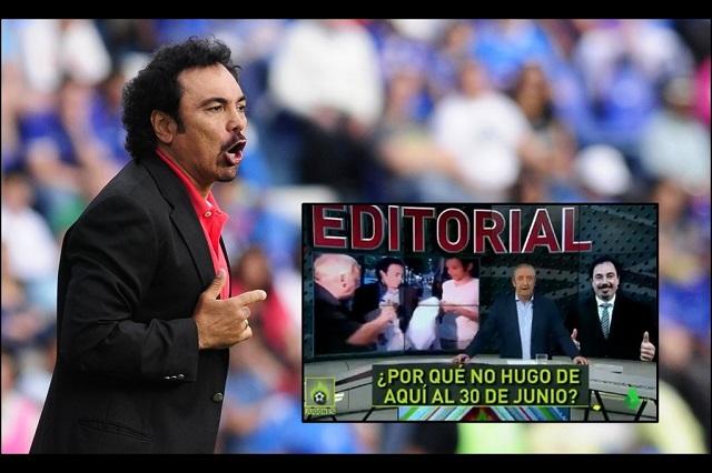 Hasta Hugo Sánchez se menciona para dirigir al Real Madrid