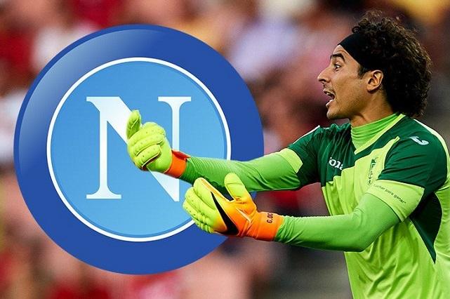 Medios aseguran llegada de Ochoa al Nápoles y aún no hay acuerdo de clubes