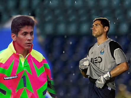 Jorge Campos, el ejemplo a seguir de Íker Casillas