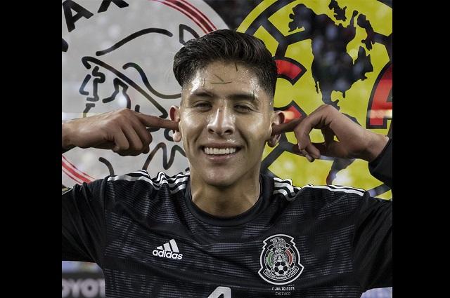 Edson Álvarez llega a Holanda; Ajax pagará 17 mdd