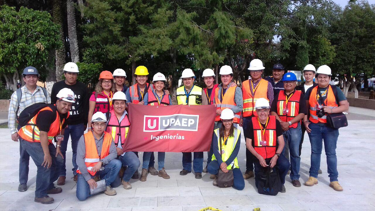 Ingeniería Civil UPAEP revisa zonas afectadas por el sismo