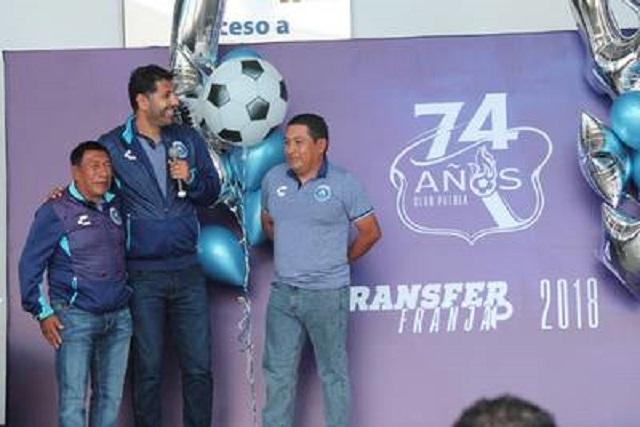 Club Puebla festeja sus 74 años con jugadores históricos