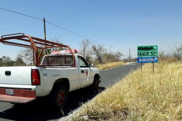 Con mayor alerta en el Popo rutas de evacuación lucen mal estado