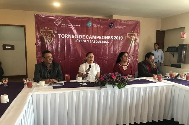 Presentan el Torneo de Campeones Puebla 2019