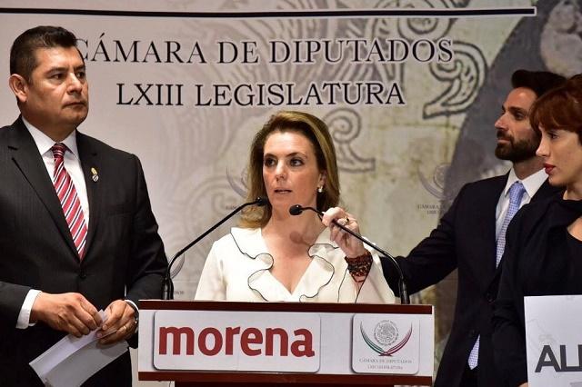 Se apunta Paola Migoya en Morena para  coordinadora en la capital