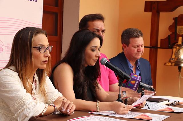 Presentan Semana Nacional de Vacunación en San Pedro Cholula