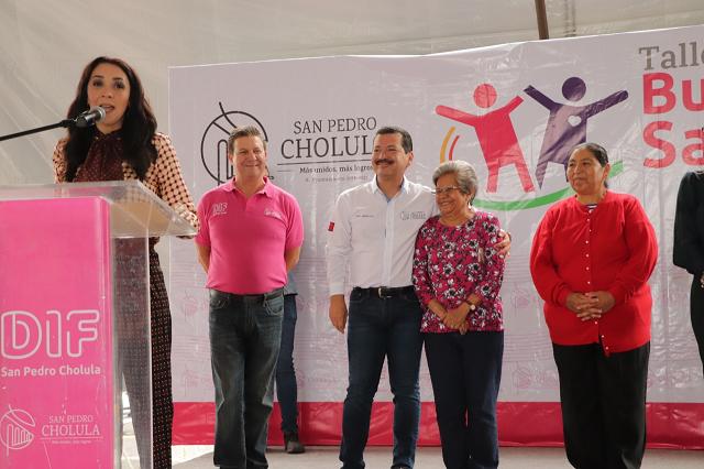 San Pedro Cholula, con más programas sociales para su gente: Arriaga