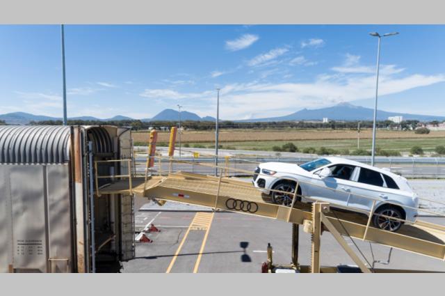Logística de clase mundial tiene Audi en planta de San José Chiapa