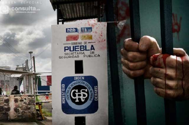Lidera Puebla en riñas, golpizas y crímenes en cárceles
