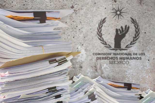 Desatiende FGE recomendaciones por violaciones a derechos: CNDH