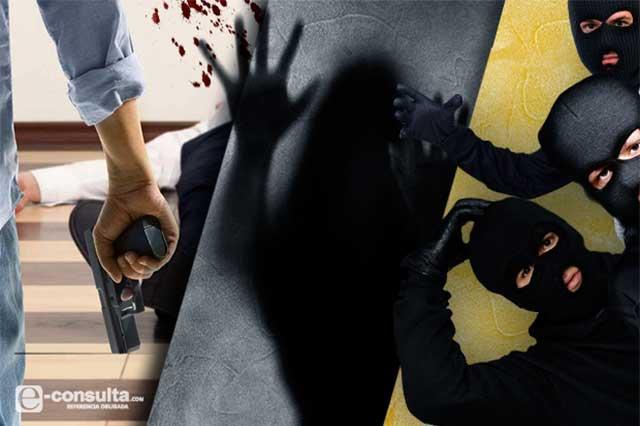Comando roba caja fuerte con bienes por 2 mdp, en Huauchinango