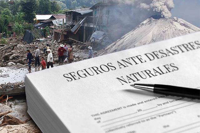 Defiende Riestra contratación de seguros contra desastres naturales
