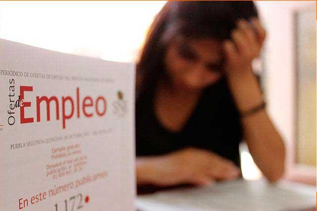 Crece 2.6% la generación de empleos formales en Puebla, informa la STPS