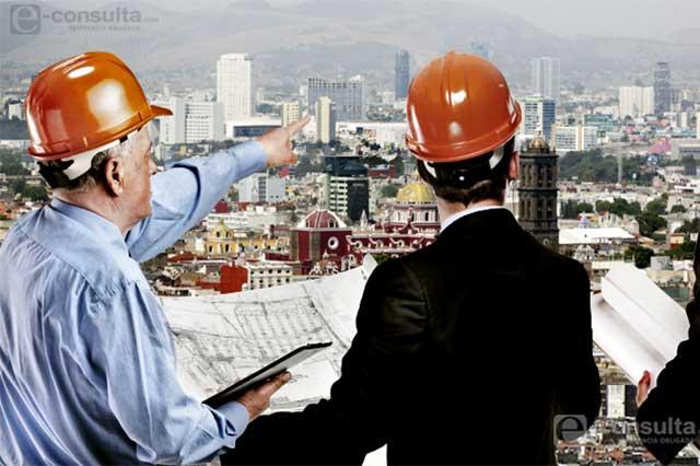 Constructoras foráneas absorben 54% de la obra en Puebla