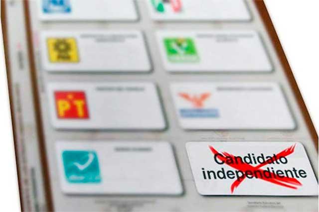 Registra INE 12 aspirantes a candidatos independientes a diputación federal