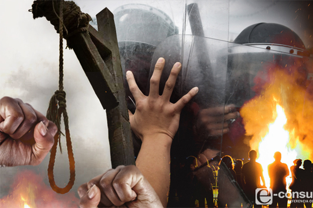 Madre salva a sus hijos de ser linchados en comunidad de Tlahuapan