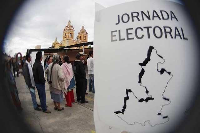 Por violencia, pide INE a policías cuidar a funcionarios en Puebla