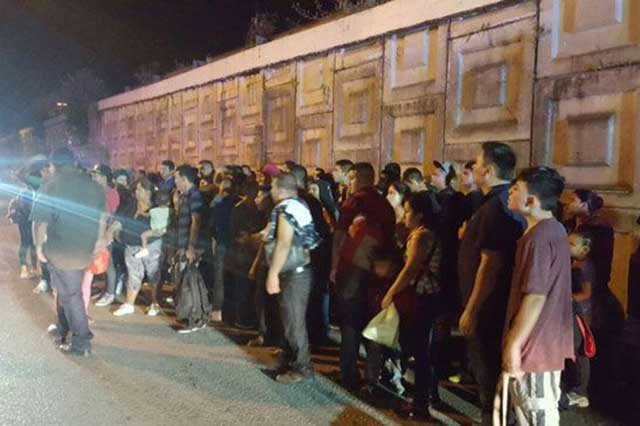 En una ranchería de Tabasco PGR rescata a 133 migrantes