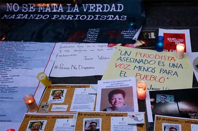 Medios nacionales e internacionales alzan la voz contra violencia a periodistas