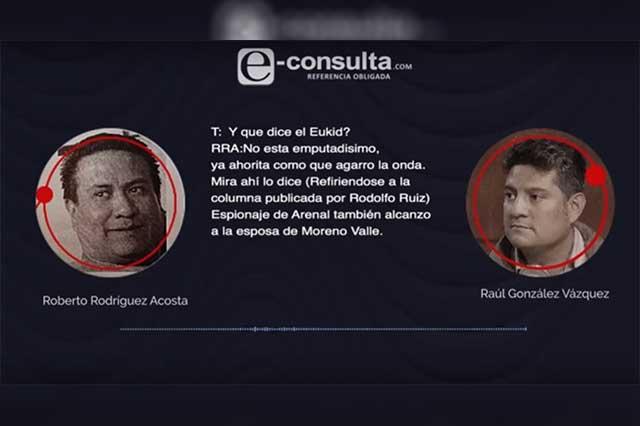 Ex agentes sí involucran a Eukid en red espía instalada en Puebla