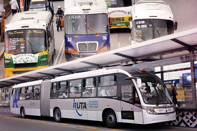Rutas desplazadas por Línea 3 buscan clientelas alternativas