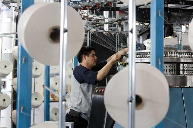 Repunta 13.4% el empleo en el sector manufacturero de Puebla
