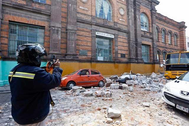 Quálitas condonará deducible a vehículos dañados por los sismos