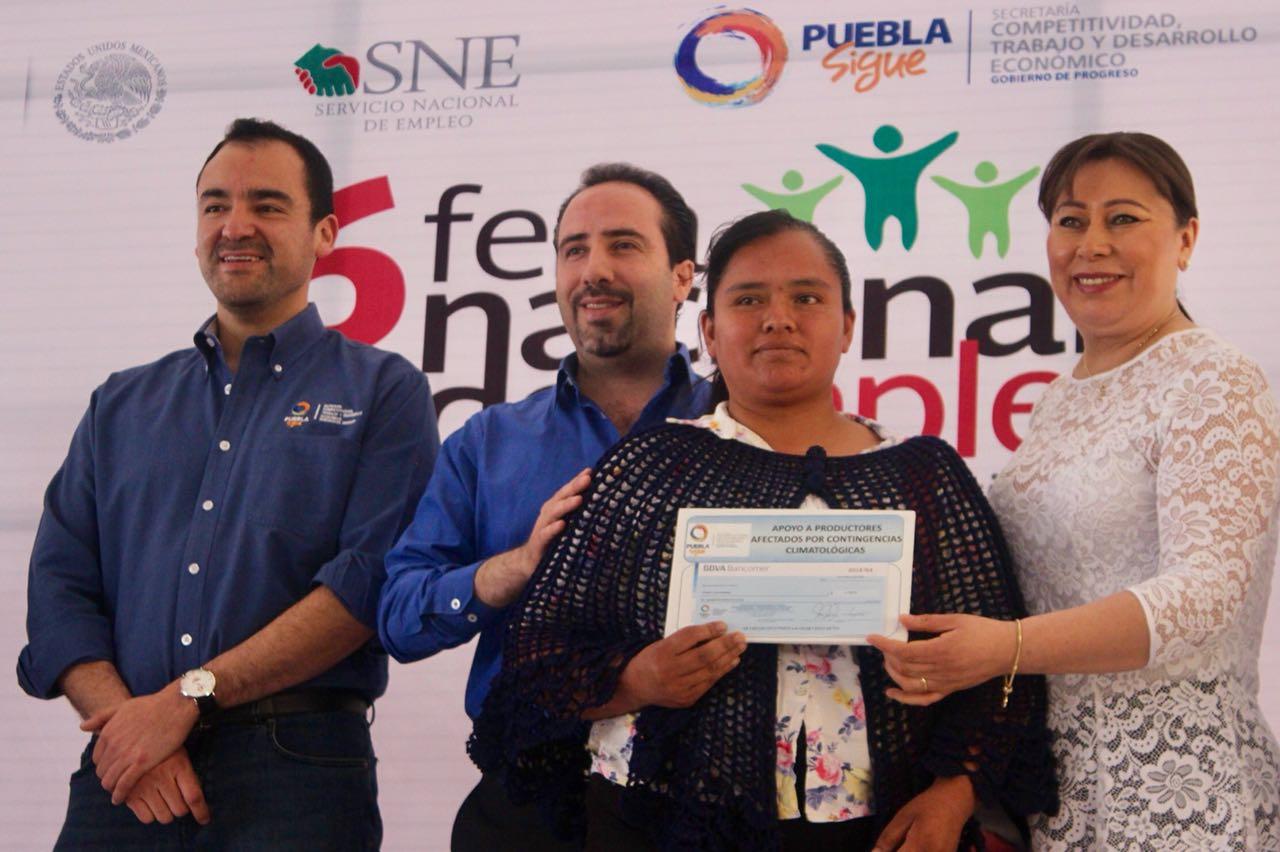 Ofertan 400 plazas en la VI Feria del Empleo en Teziutlán