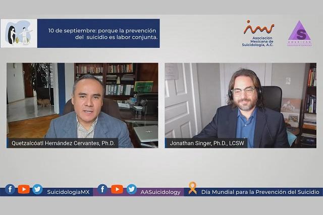 El acto suicida, asunto de salud pública: docente de Ibero Puebla