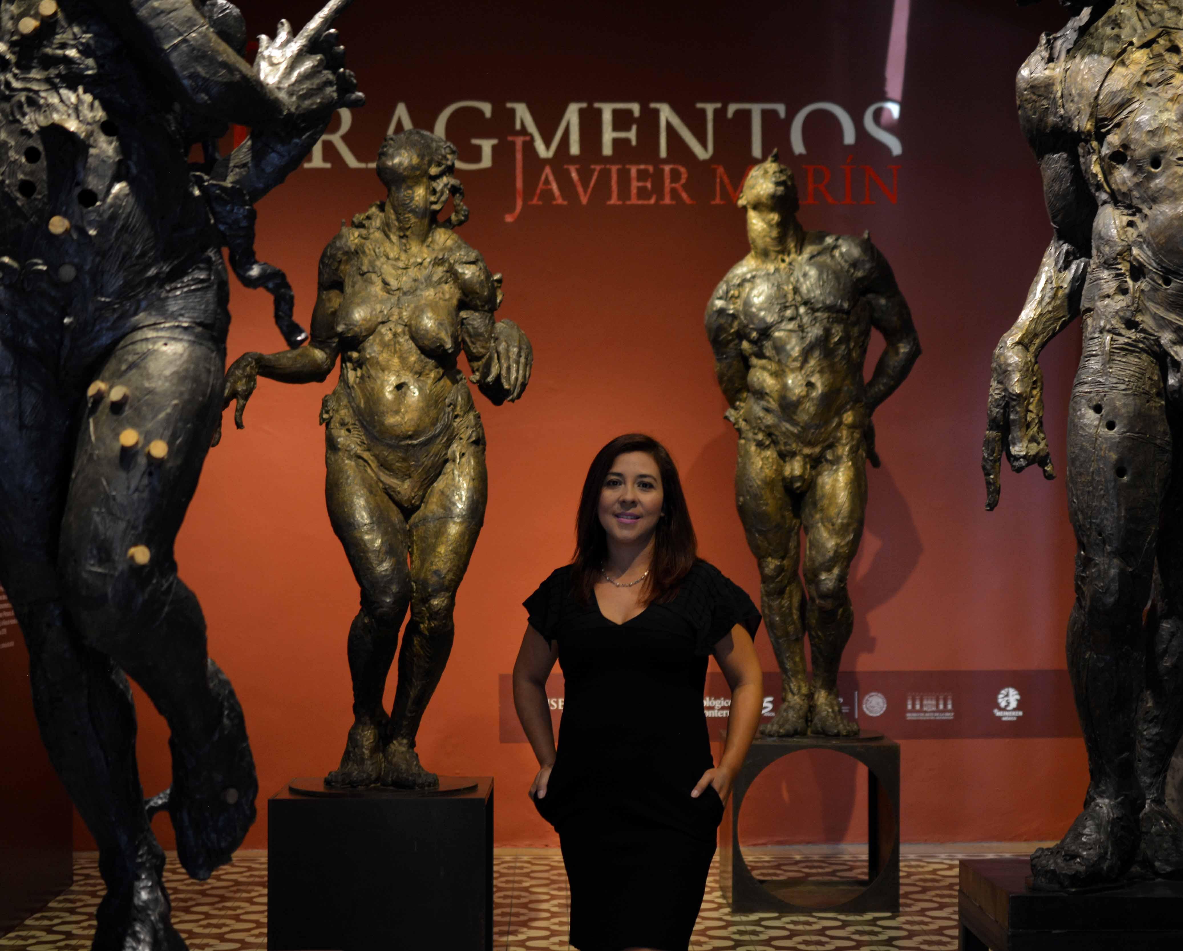 En Museo del Tec presentan exposición de Javier Marín