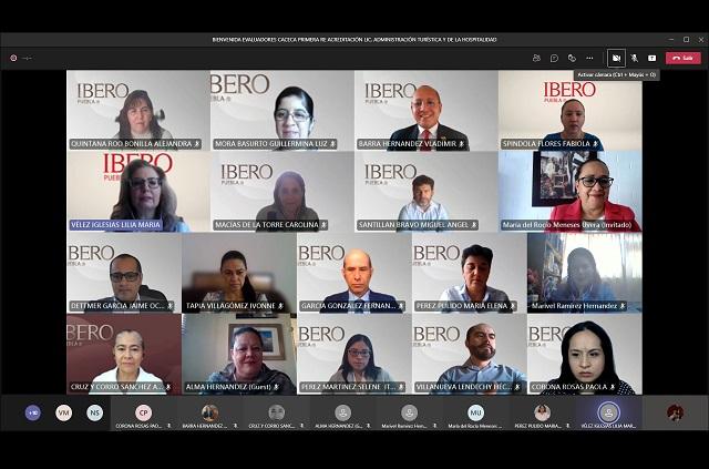 Reacreditan Administración Turística de IBERO Puebla